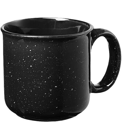 15 oz. Campfire Ceramic Mug (Set of 24) - Black