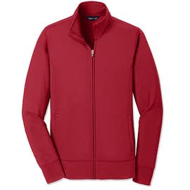 Sport-Tek Women's Sport-Wick Tech Fleece Full Zip Jacket