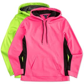 Sport-Tek Women's Colorblock Performance Pullover Hoodie