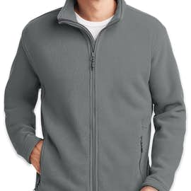 Port Authority Value Fleece Jacket - Color: Deep Smoke