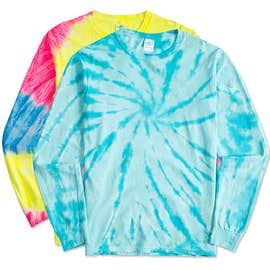 Port & Company Tie-Dye Long Sleeve T-shirt