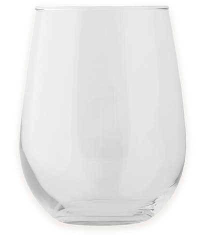 17 oz. Stemless Wine Glass - Clear