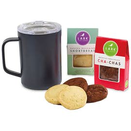 Corkcicle Sip & Indulge Cookie Gift Set