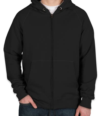 Custom Hanes Nano Zip Hoodie - Design Full Zip Sweatshirts Online at ... ba4d195c43bf