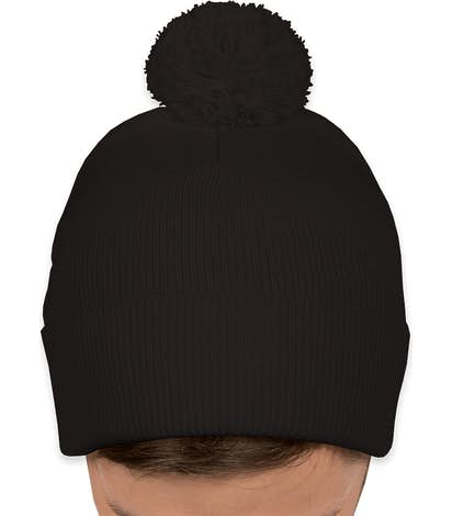 05272470cb2 Design Custom Embroidered Sportsman Pom Pom Knit Hat Online at CustomInk