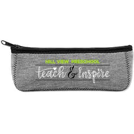Heathered Canoe Pencil Case
