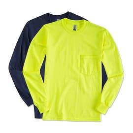 Canada - Gildan Ultra Cotton Long Sleeve Pocket T-shirt