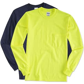 Canada - Gildan Ultra Cotton Long Sleeve Pocket T-shirt