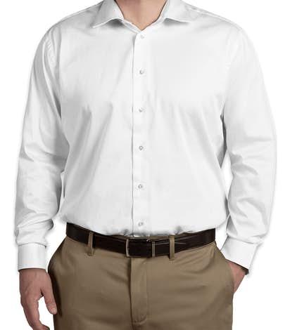 Calvin Klein Cotton Stretch Shirt - White