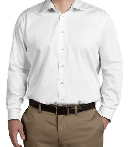 Calvin Klein Cotton Stretch Shirt - White