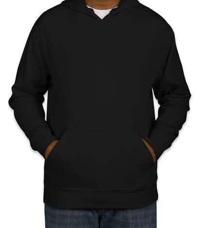 J. America Cloud Soft Pullover Hoodie - Black