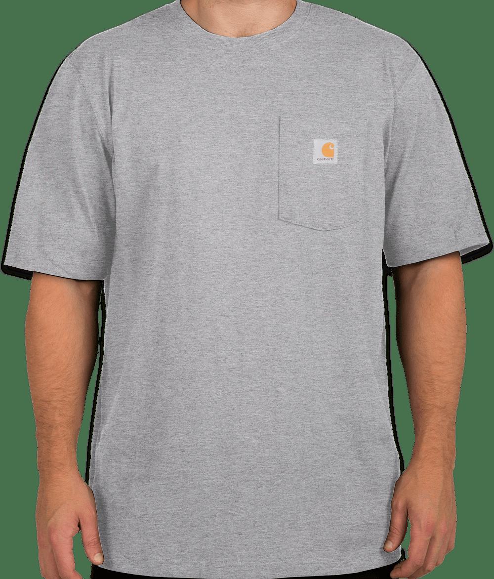 Custom Carhartt Workwear Pocket T Shirt Design Short Sleeve T