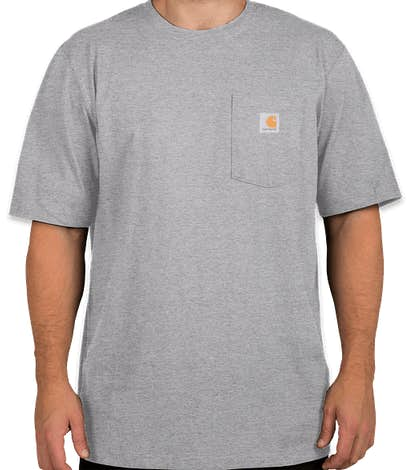 Carhartt Workwear Pocket T-shirt - Heather Grey