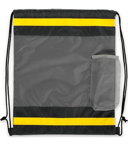 Coolrunning Mesh Pocket Drawstring Bag - Grey