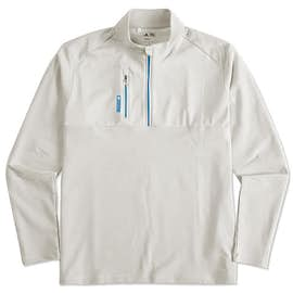 Adidas Golf Contrast Quarter Zip Pullover