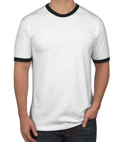54e1555f Design Custom Printed American Apparel Ringer T-Shirts Online at ...