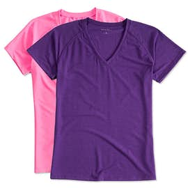 Sport-Tek Women's Ultimate V-Neck Performance Shirt