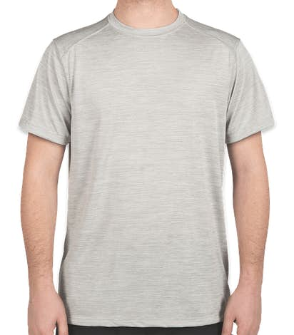 Augusta Tonal Heather Performance Shirt - Silver