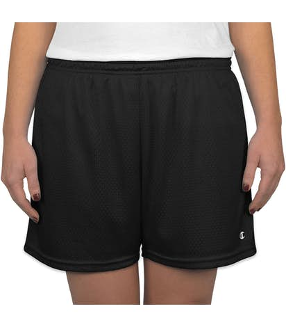 Champion Women's Active Mesh Shorts - Black