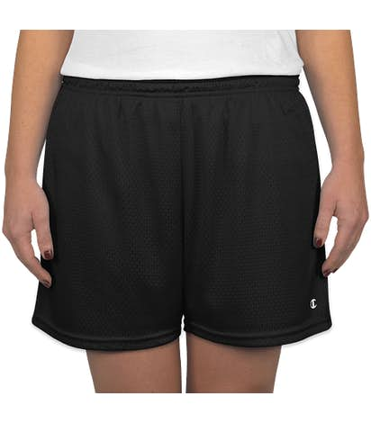 Champion Women's Active Mesh Shorts - Black