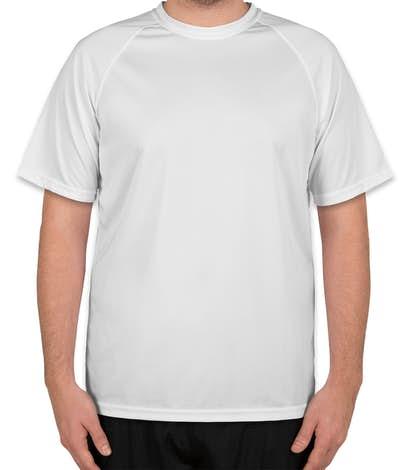 Augusta Attain Raglan Performance Shirt - White