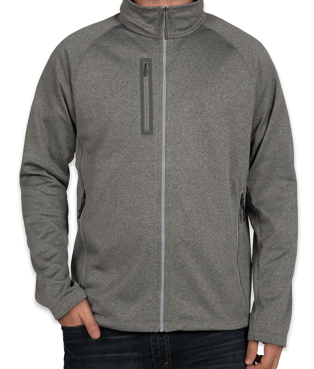 Design Custom Embroidered The North Face Canyon Flats Fleece Jacket