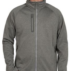 The North Face Canyon Flats Fleece Jacket - Color: Medium Grey Heather