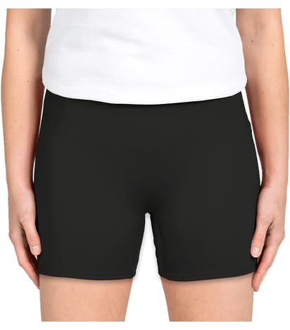 Badger Women's Compression Volleyball Short - Black