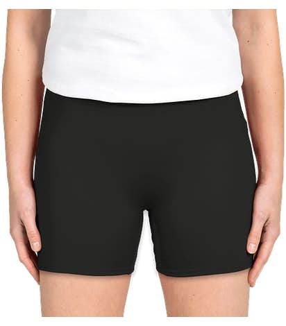 Badger Women's Compression Volleyball Short - Black