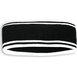 Holloway Homecoming Headband - Color: Black / White