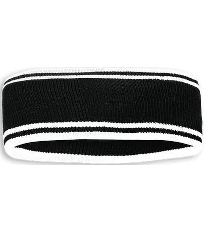 Holloway Homecoming Headband - Black / White