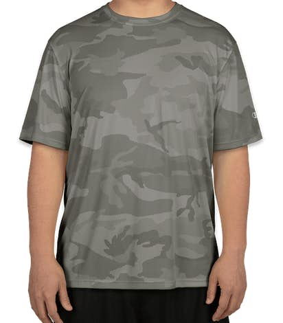 Champion Camo Performance Shirt - Stone Grey Camo
