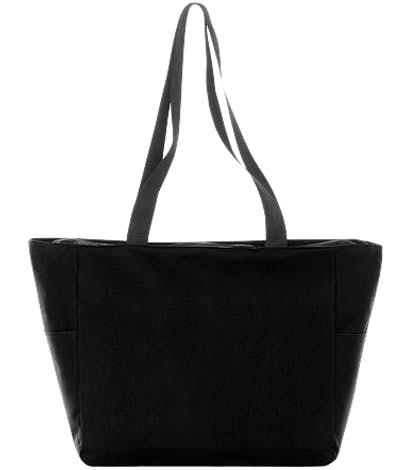 Essential Zip Convention Tote - Black