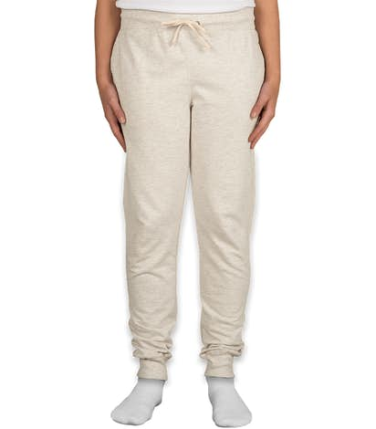 Champion Authentic Women's French Terry Joggers - Oatmeal Heather