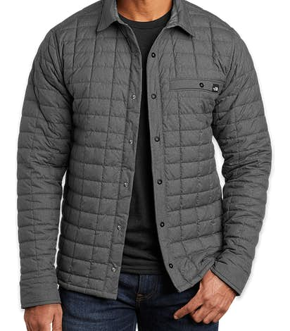 The North Face ThermoBall Eco Snap Jacket - TNF Dark Grey Heather