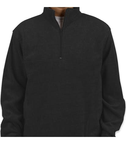 Custom Harriton Quarter Zip Fleece Pullover - Design Fleece Jackets ... 78f246ea193b