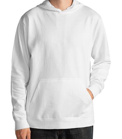 Delta Lightweight Pullover Hoodie - White