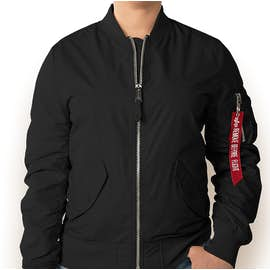 Alpha Industries Women's L-2B Scout Jacket - Color: Black