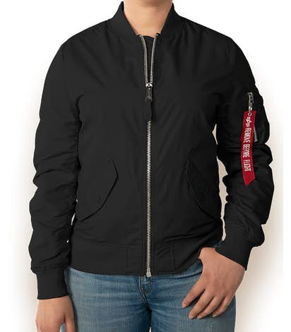 Alpha Industries Women's L-2B Scout Jacket - Black