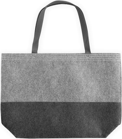 Port Authority Large Felt Tote - Felt Charcoal / Felt Grey