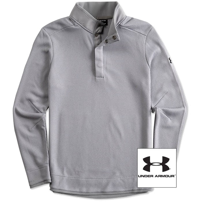 00cf12ae Custom Under Armour Quarter Snap Up Sweater Fleece - Design Quarter ...