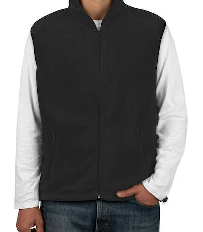 Harriton Fleece Vest - Black
