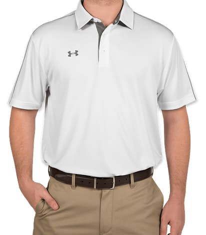 Under Armour Tech Polo - White