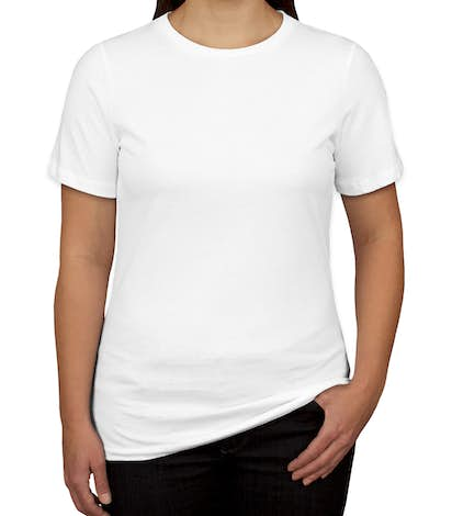 Bella + Canvas Women's Tri-Blend T-shirt - Solid White Tri-Blend