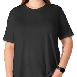 Bella + Canvas Women's Tri-Blend T-shirt - Color: Charcoal Black Tri-Blend