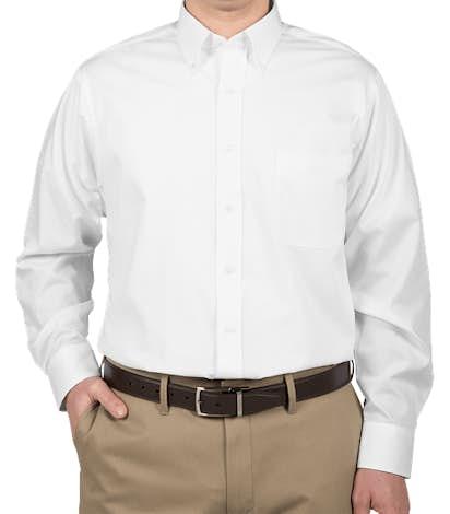 Van Heusen Baby Twill Dress Shirt - White
