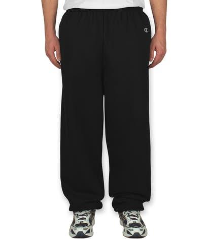Champion Fleece Sweatpants - Black