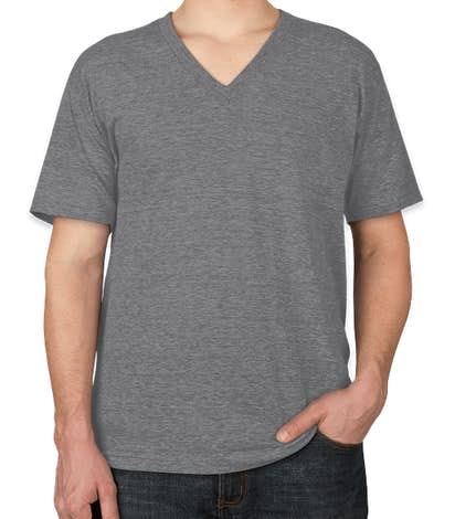 American Apparel Tri-Blend V-Neck T-shirt - Athletic Grey