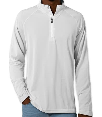 Under Armour Tech Stripe Quarter Zip Pullover - White