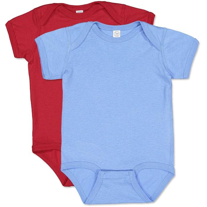 514e7b4aa0658 Rabbit Skins Jersey Baby Bodysuit